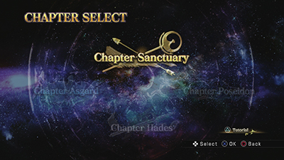 Chapter Select